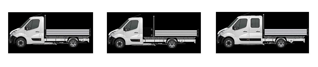 Vauxhall Movano chassis cabs
